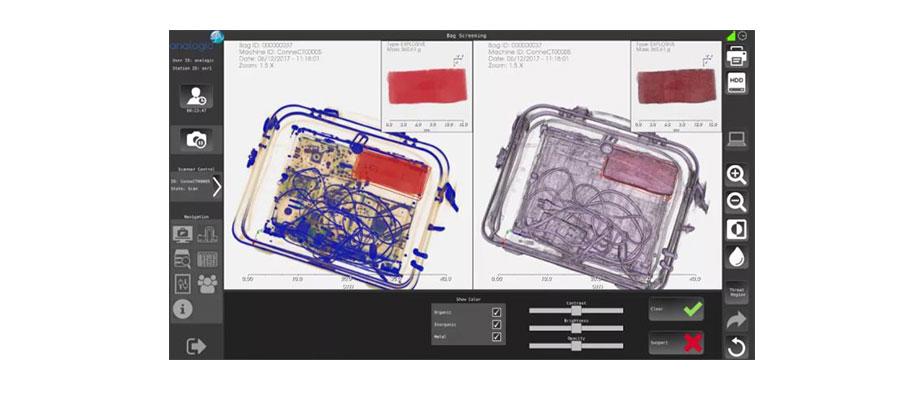 快递安检机相关操作指南+在快递安检中的运用-神飞安